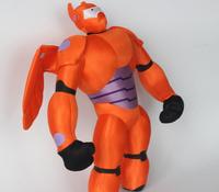 40CM=15.7inch New Marvel Movie Big Hero 6 Plush Toy Big Hero 6 Baymax Robot Plush Doll