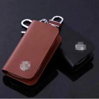 Free shipping black brown car key fob car key chain protective holster