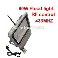 ir remote 90w 100w cob led rgb color changing spotlight colored outdoor flood lights high voltage 110v 220v landscape lighting