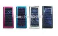 YSA1350 1350mAh Solar Battery Charger Dual USB Power Bank for iPhone6 iPad Galaxy PSP Camara MP3 MP4 Video