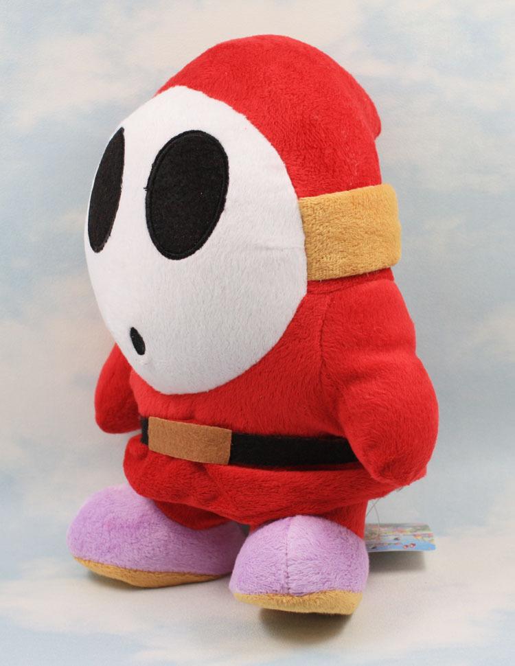 EMS 30 шт./лот Бесплатная доставка Super Mario Bros Плюшевые Игрушки 24 см Застенчивый Парень Мягкие Чучела Брелок Плюшевые Куклы Младенца игрушка