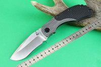 Sanding version OEM STRIDER D2 Blade Pocket knife Survial knives Camping tool  G10 + TC4 Titanium alloy Handle Drop shipping