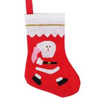 5pcs/lot Cute patterns Christmas Tree Decoration Santa Claus Socks Gifts Christmas Hanging Ornaments free shipping  E012