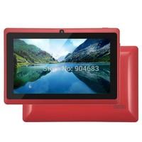 Cheap 7 inch Dual core A23 Q88 Q8H 1.5GHz android 4.4.2 tablet pc 512M 4GB Dual camera WIFI External 3G photoflash Big Speaker