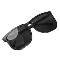 Retro Women Sunglasses Shades Squared Type Frame Outdoor Sun glasses Black V3NF