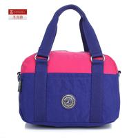 Big 2014 color block one shoulder handbag the european fashion bag casual bag 7874