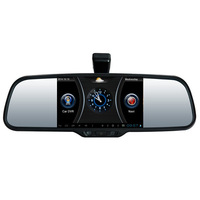 android 4.0.3/ bluetooth /  dvr/ rear view mirror GPS DVR back/front  FM for SUZUKI SX4