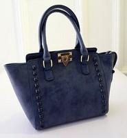Free shipping 2015 new Korean fashion rivet bag nubuck wave packet trade fashion ladies shoulder handbag women bag