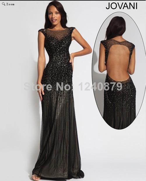 2014 moda Sexy árabe Design sereia colher Cup feminina preto comprimento pavimento brilhantes Beads vestidos vestido de noite com pedras Ze-059(China (Mainland))