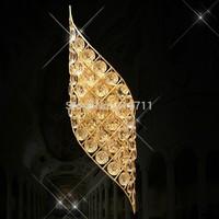 European wall lamp modern luxury crystal led wall lamp