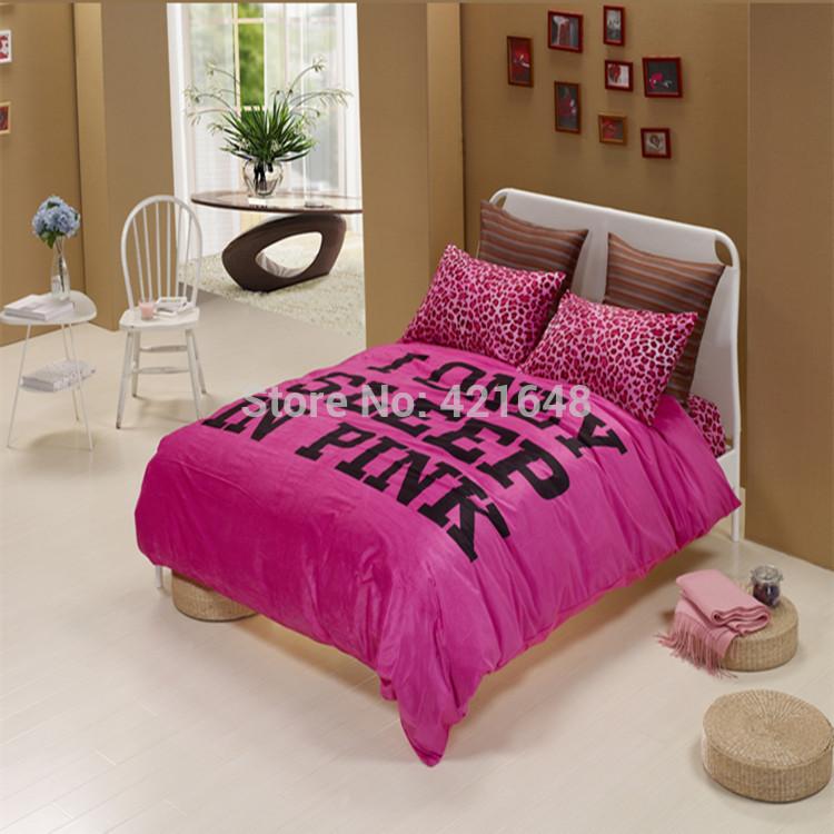 Popular black white pink comforter buy cheap black white - Black white pink comforter ...