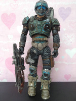 NECA Gears of War 2 COG Soldier doll Action & Toy Figures toy model movable Packed bulk Doll