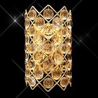European crystal wall lamp golden crystal wall lamp