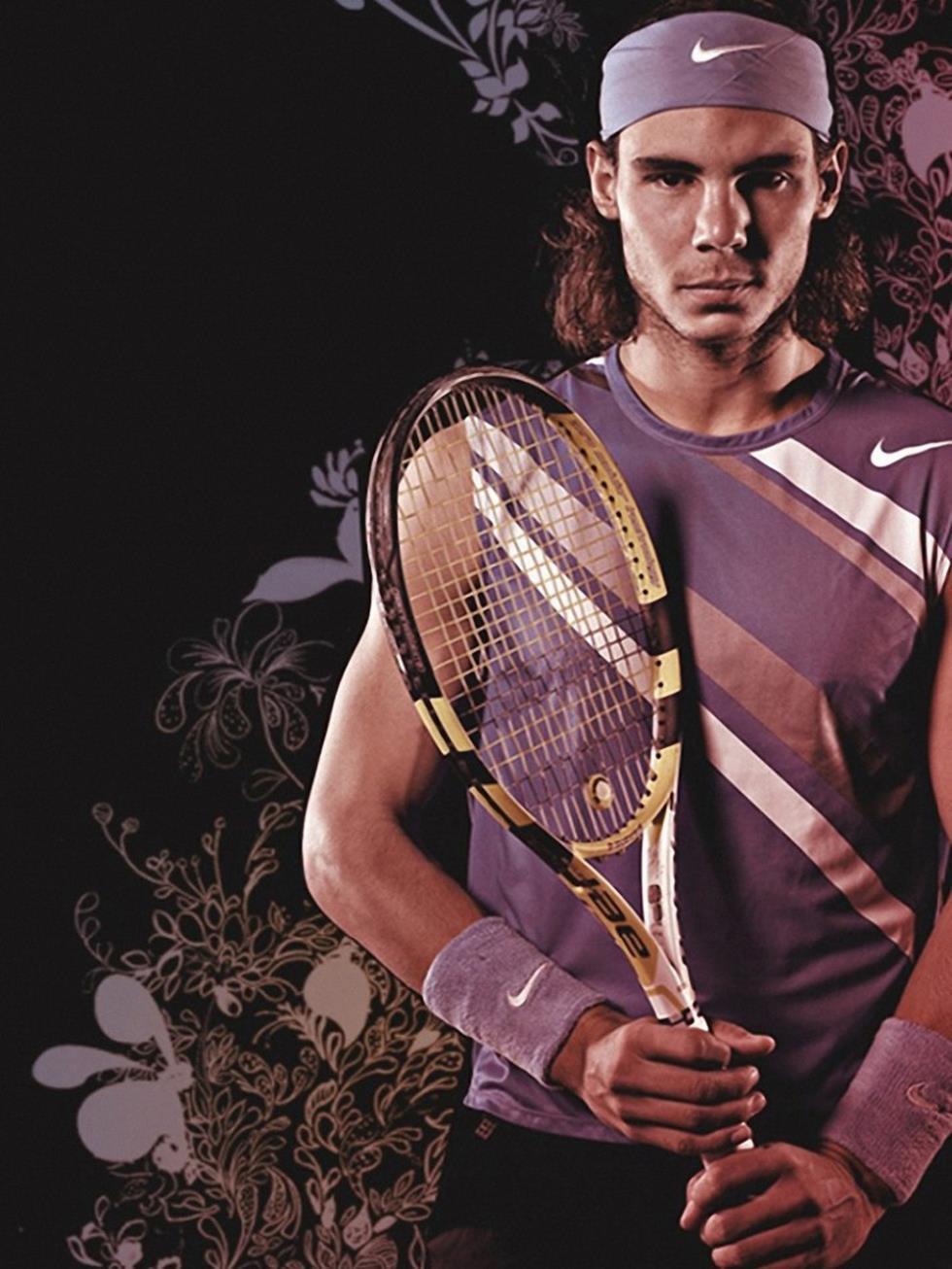 "Rafael Nadal Tennis star Silk Cloth Poster 32 x 24"" 17""x13"" --043(China (Mainland))"