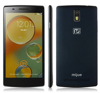 New Original Mijue M580 MTK6582 Quad Core 3G Smart phone Android 4.4 5.5'' QHD IPS 1GB RAM 8GB ROM Dual Sim GPS 8.0MP Camera