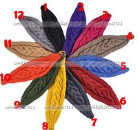 New women hairband knit hairband headband headwrap vintage style warmer wrap