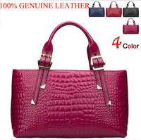 New Women Handbag Natural Skin Genuine Leather Bag Crocodile Desigual Women Shoulder Bags Messenger Bag Women Bag Clutch Bolsas