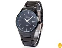 Curren 8106 Quartz Men Business Sports Watches Men Military Wrist Watches Casual Full Steel Men Watch 2014 Waterproof Relojes