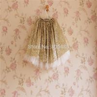 New style 5pcs/lot children  fluffy yarn skirt  Wholesale sequined tutus