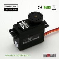 DOMAN RC DM-S1306MD 56g/0.16s/13kg.cm metal gear 360degree robot used 13kg digital servo