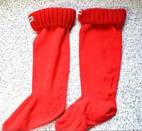 New fashion hunte women men socks rib Wool Fringe rain boots socks winter woman man matching socks items only socks 35-44