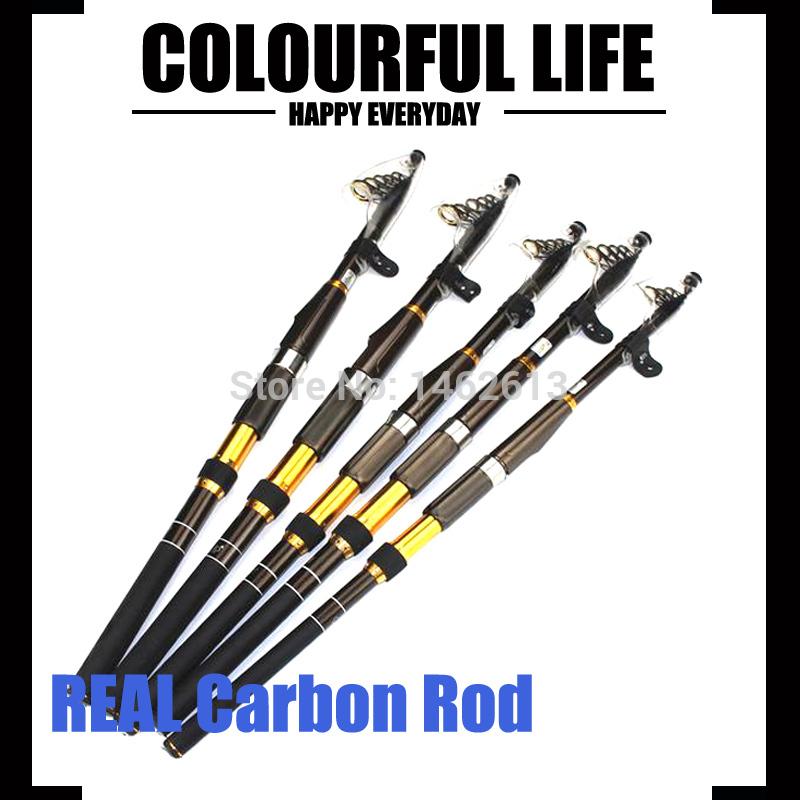 Hot selling 2.1m 2.4m 2.7m 3.0m 3.6m Hard Carbon Fiber Carp Fishing Telescopic Fishing Rod, Long Casting Portable Spinning Rod(China (Mainland))