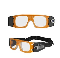 Full HD 1920x1080P 5.0MP COMS AT80 Outdoor Waterproof Sports Camera Mini Glasses DVR