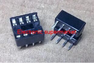 60PCS/LOT 8pin DIP IC sockets Adaptor Solder Type 8 pin(China (Mainland))