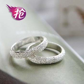 C99 agreed lifetime simple matte ring rubs the sand ring lucky ring lovers partner(China (Mainland))