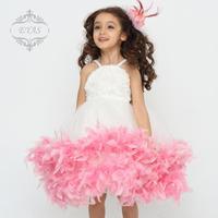 EYAS child Tutu dress girls wedding dress wedding gown dress flower girl princess dress Korea
