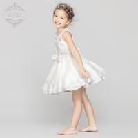 Flower girl dresses bridal girls dress white dress princess dress children Princess pettiskirt girl