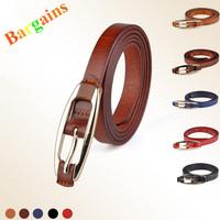 Fashion Belts For Women High Quality Leather Thin Red Strap cintos femininos cummerbund Free Shipping B2620