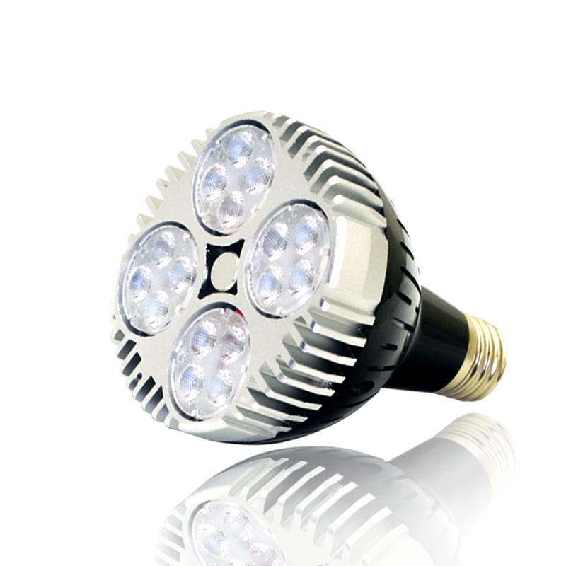 Par30 45 w LED Spot cresce a luz lâmpada com ventilador para jardim planta Indoor 110 v 220 v(China (Mainland))