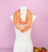 Fashion Zig Zag Stripe Jersey Knit Infinity Cowl Scarf Cotton Scarves,women winter chevron infinity jersey scarf