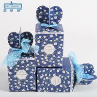 60pcs/lot PG1404 Christmas Gift Boxes Christmas Eve Candy Box Gift Box Folding Box Wholesale