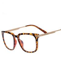 2014 New Brand Designer Metal Women/men Big Frame Glasses Eyewear Eyeglasses Spectacles Frame Glasses Oculos De Sol