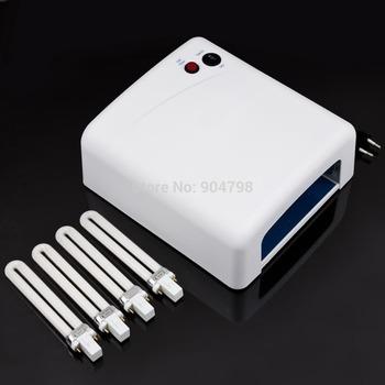 Высокое качество популярные 36 Вт ес подключите ультрафиолетовый 220 В гель профессиональный UV леча светильник сушилка ногтей