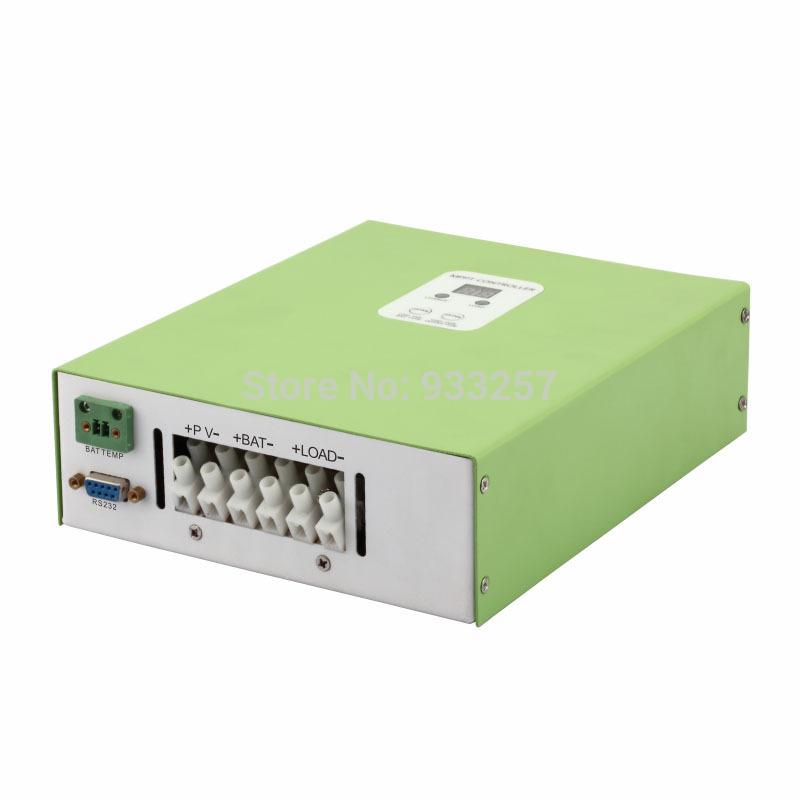 Free ship to West EU 40A MPPT solar controller 12V(213W)24V(426W)48V(852W) Auto recognize,DC12V output,RS232&LAN,99% efficiency(China (Mainland))