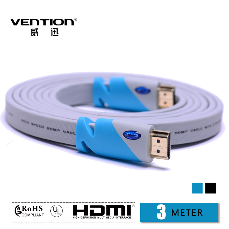 Vention! High quality !Gold-Plated Standard HDMI Cable for Computer /TV/ Blu-ray HD DVD/HD Video(China (Mainland))