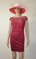 2014 Women's Casual Dress Bodycon Fashion Red Lace Dress Sexy Club Wear Tight Nightclub Loaded  Y002