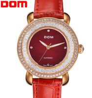 women watches ladies quartz watch clock women Dom brand christmas gift woman casual fashion luxury watch relogios femininos 2014