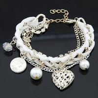2014 new  fashion knitting love bracelet