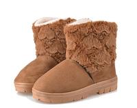 Women's flat Fur snow boots winter shoes