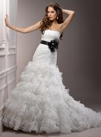 Women brides wedding dress martina free shipping J1501