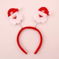 Xmas Hairband Santa Clause Headband Headgear Kids/Adults Christmas Party Dress Up Gift