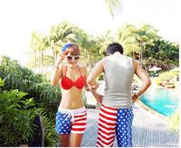 Free Shipping Men's couple leisure Beach shorts