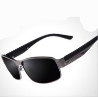 2014 New Metal Retro Men Sun Glasses Polarized UV400 Protection Outdoor Goggles Drving cycling Golf Aviator Sunglasses