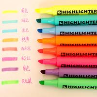 New arrival South Korea stationery Fluorescent pen graffiti pen oily mark pen lovely watercolor pen 01109