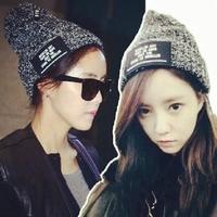 Leisure knitting hat Winter Hot Sell Cap Outdoor Recreation Fashion Head Cap Women/Men Free Shipping