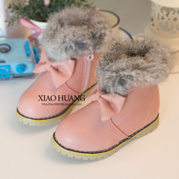 New arrival children snow boot warm winter shoes for kids cute girl shoes
